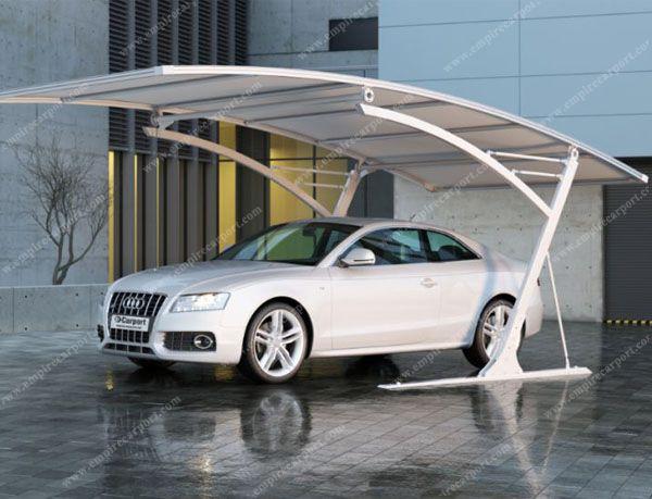 white aluminium car canopy tent