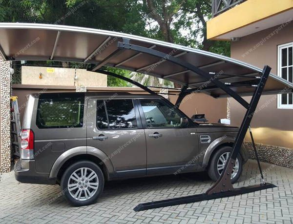 Hot selling brown single carport