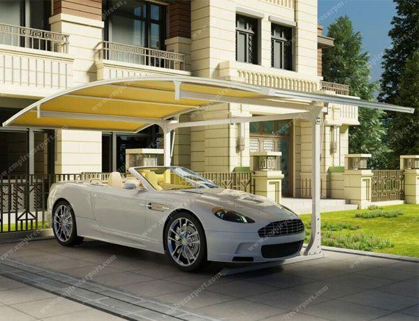 Side carport for 1car use
