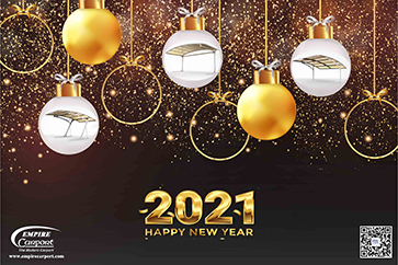 Happy Holidays for New Year 2021